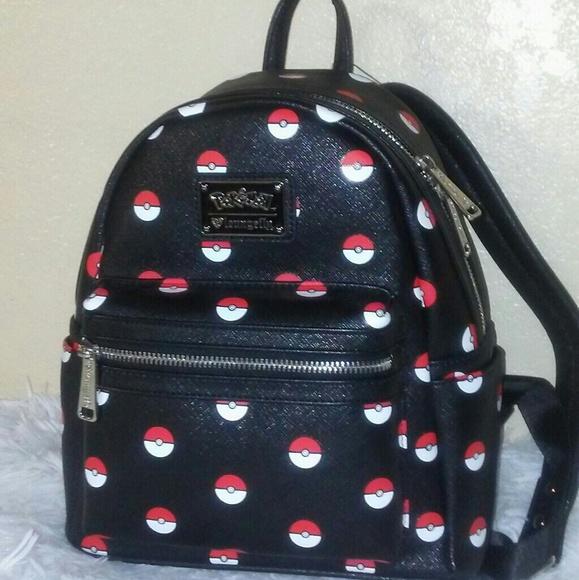 43f0bf6ff9c Loungefly Pokemon Mini Backpack NWT
